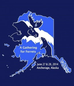 2014 AK Ferret Gathering logo